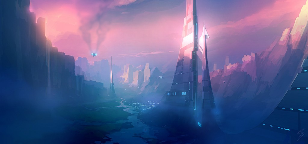 speed_painting___valley_city_by_antifan_real-d5upc6y